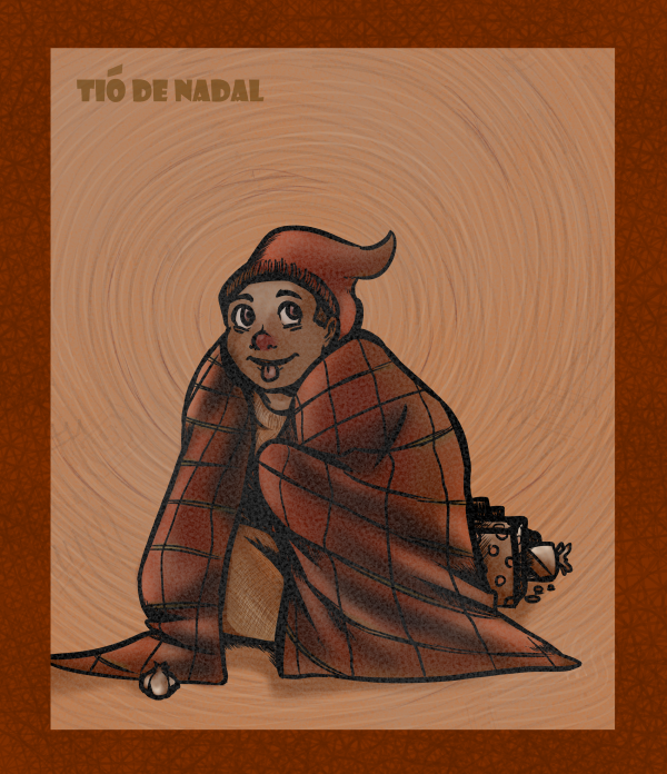 Neglected Holiday Figure 4: Tió de Nadal