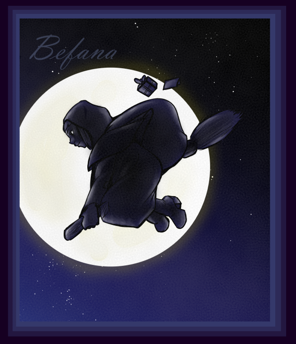 Neglected Holiday Figure 6: Befana